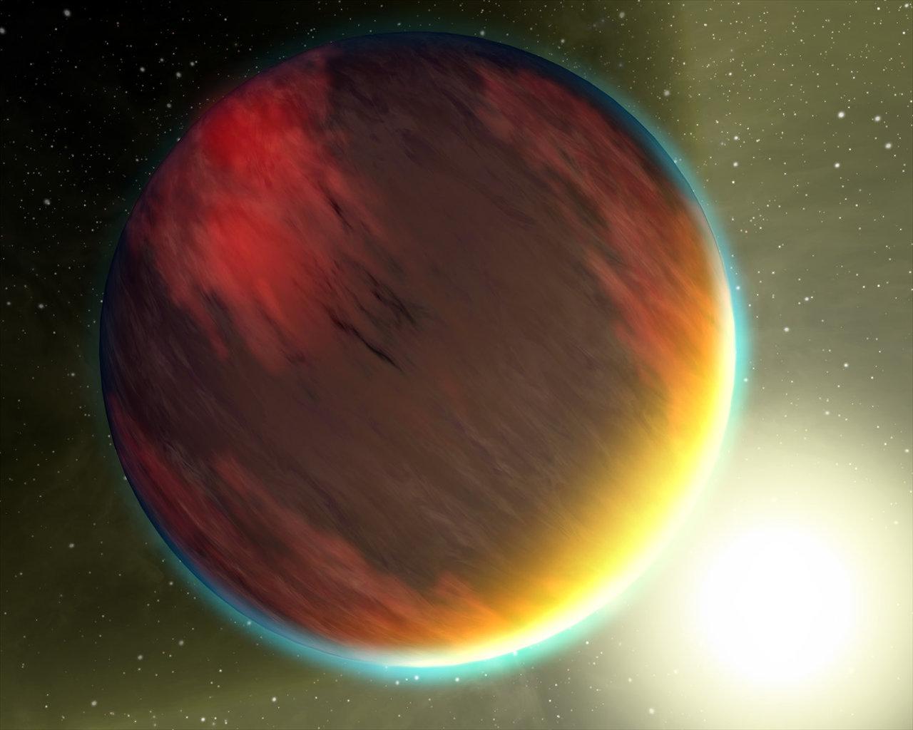 Gas Planet HD209458b
