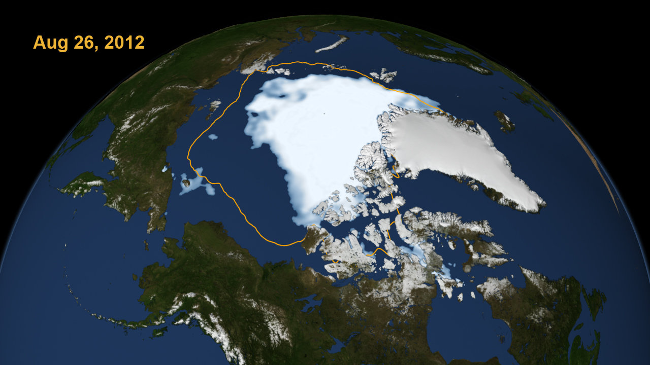 Diminishing Arctic Sea Ice