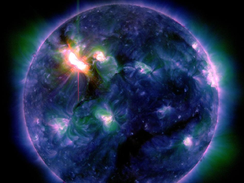 Solar Dynamics Observatory Image March 6, 2012