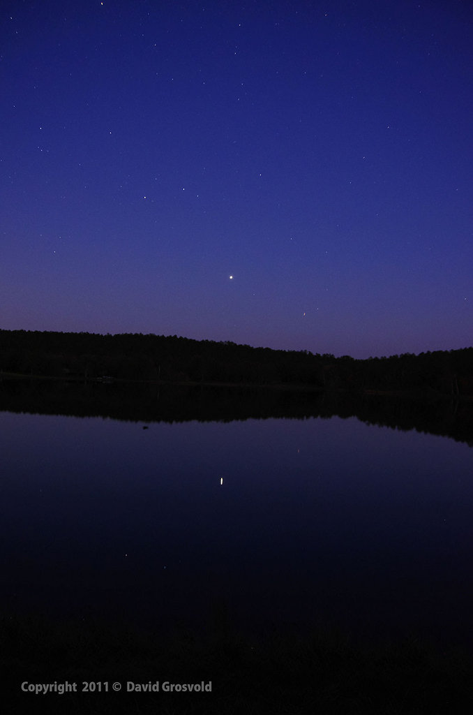 Jupiter Over Lake Tamika