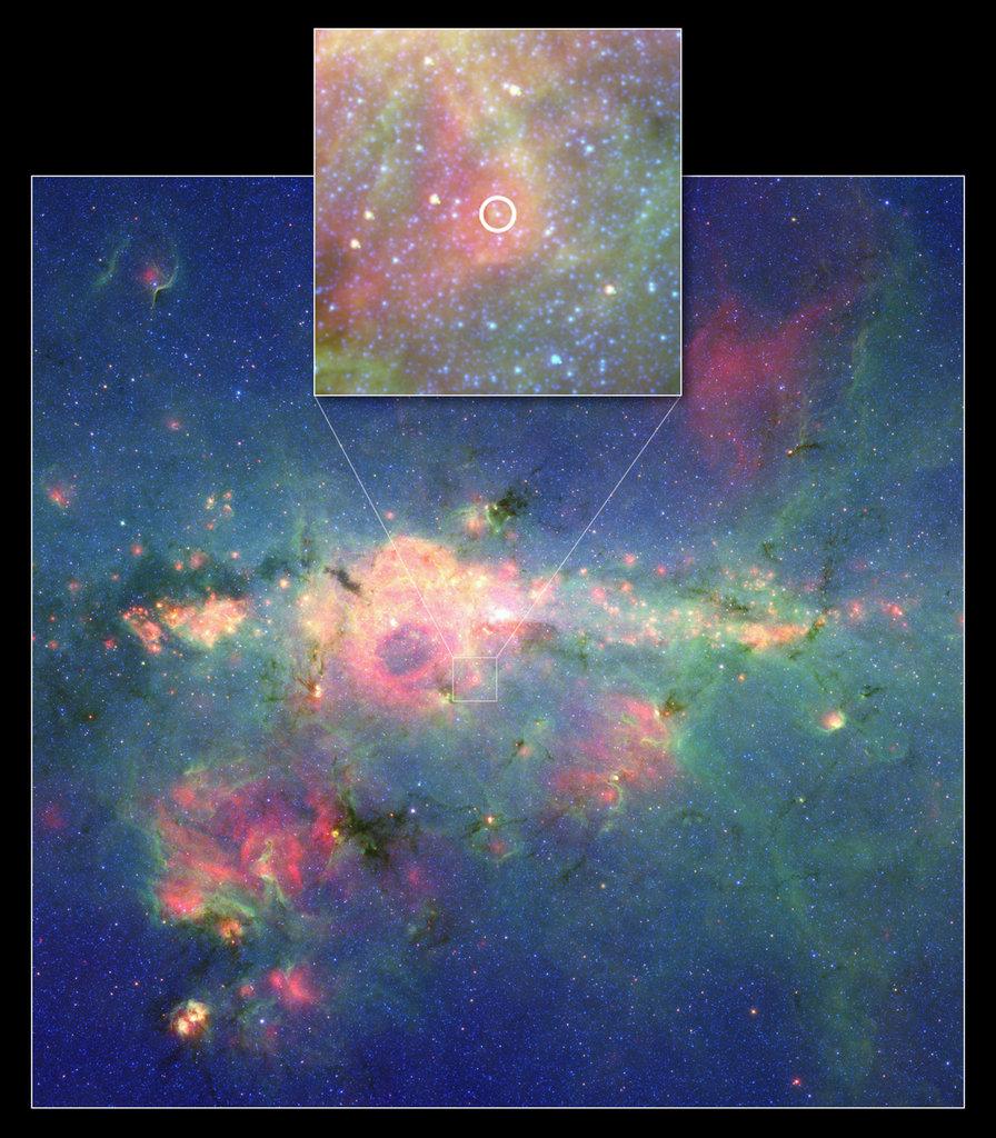 The Peony Nebula Star