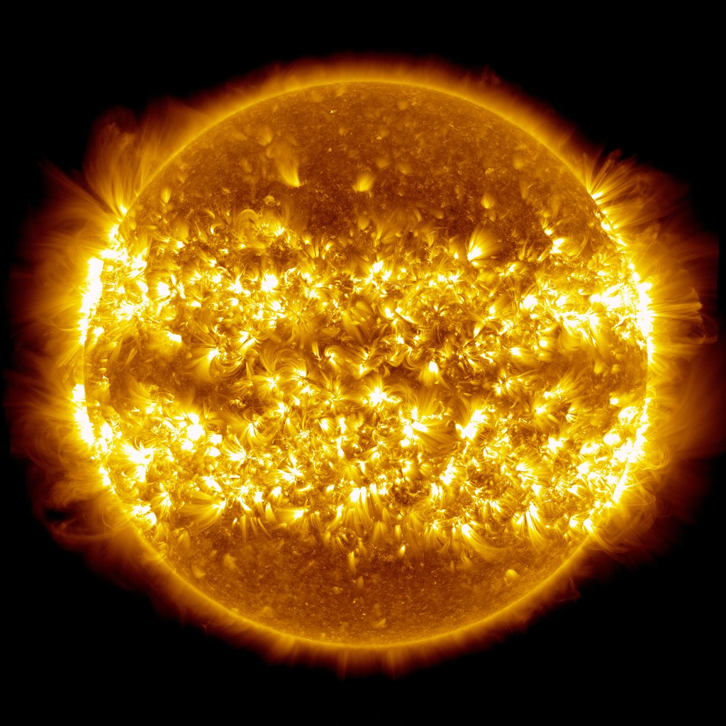 Composite Image of the Sun
