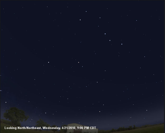 Ursa Major, 04/21/2010, 9:00 PM CDT