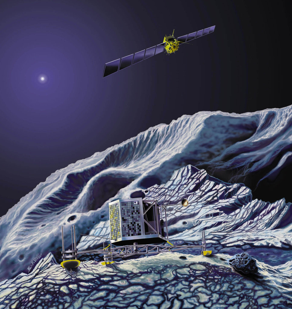 Philae, the Rosetta Lander