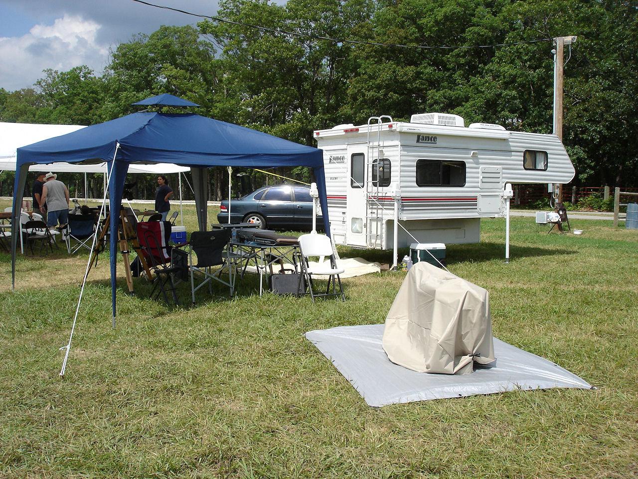Camped at MMSP