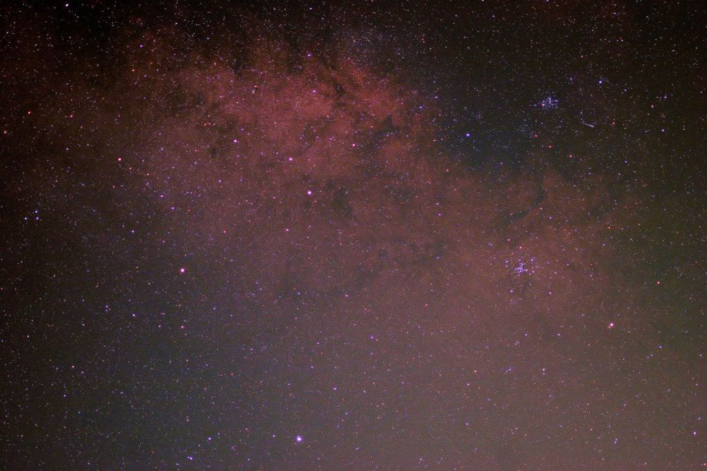 Center of the Milky Way; M6, M7