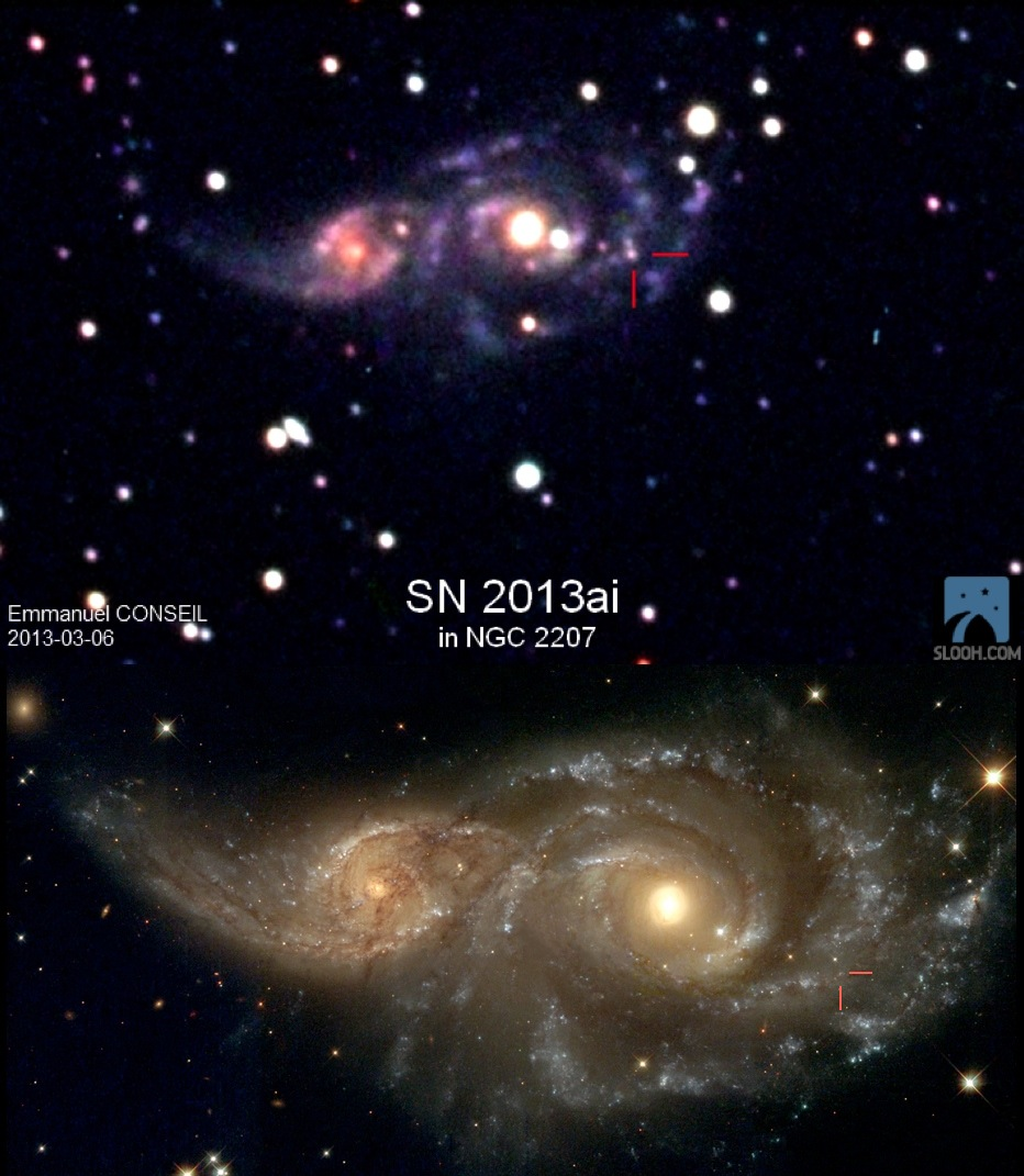 Supernova SN2013ai.