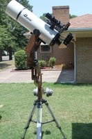 150mm scope at the P mounts higghes elevation.