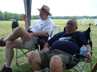 John and Leonard in attendance at the IDA-Arkansas Section annual meeting. Photo by Dave Grosvold.